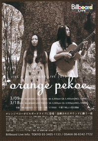 orange pekoe 2012 Billboard Live in Tokyo